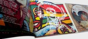 copysan Impression de CD avec Digipack 2 sections avec livret joint