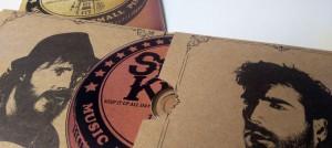 copysan Impression CD avec Digipack en 2 parties avec pochettes et livret