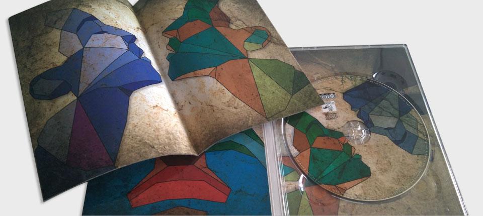 copysan Impression de CD avec DVD Digipack à fentes et livret
