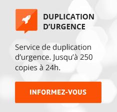copysan duplication d'urgence